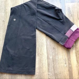Lululemon Reversible Yoga Pants